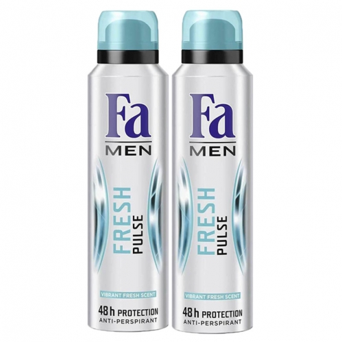 Fa - FA Deosprey Fresh Pulse Erkek 150 ml+150 ml