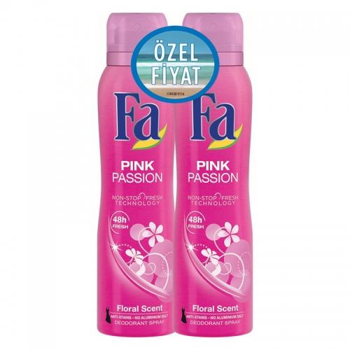 FA Deosprey Pink Passion Kadın 2'li 150 ml+150 ml
