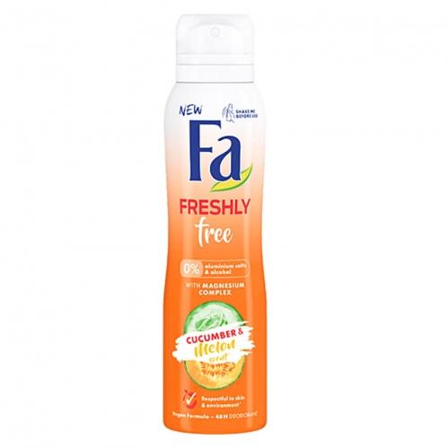 Fa - FA Freshly Free Salatalık ve Kavun Kadın Deodorant 150 ml