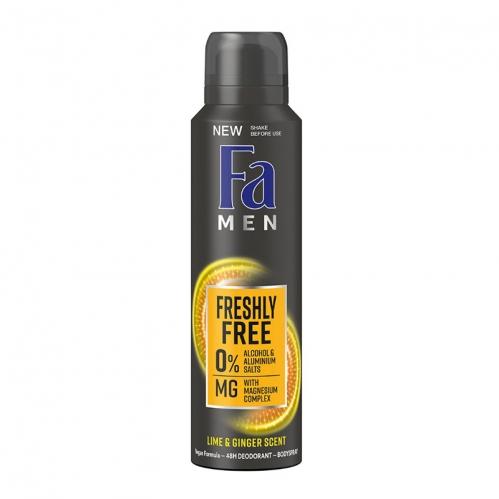 Fa - FA Men Freshly Free 48H Deodorant 150 ml