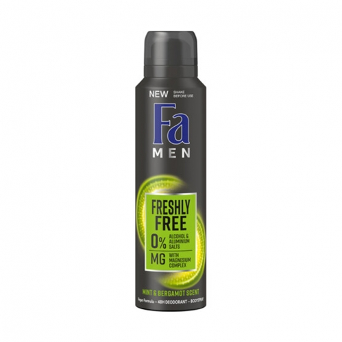 Fa - FA Men Freshly Free Vegan Formula Deodorant 150 ml