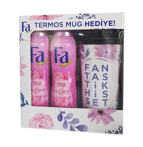 Fa - Fa Pink Passion Spray 150 ml+150 ml Termos Mug HEDİYE