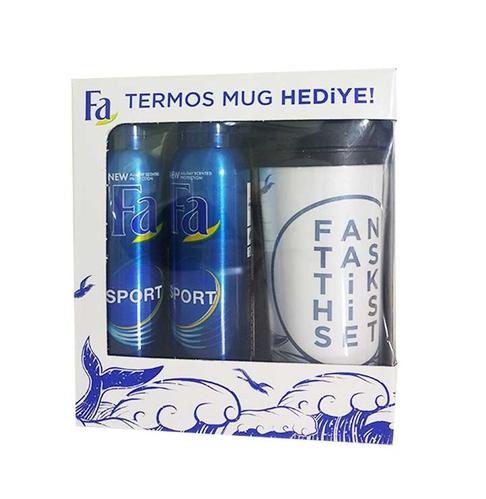 Fa - Fa Sport Spray 150 ml+150 ml Termos Mug HEDİYE