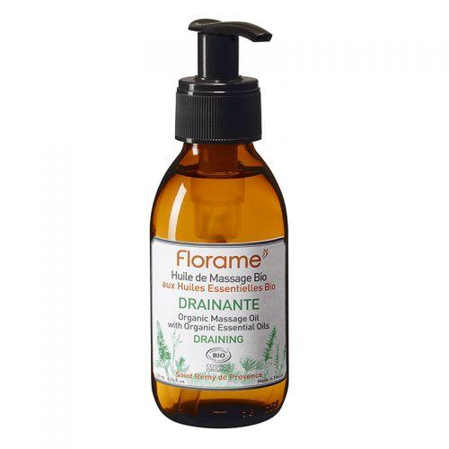 Florame - Florame Huile de Massage Bio Drainante Masaj Yağı 120ml