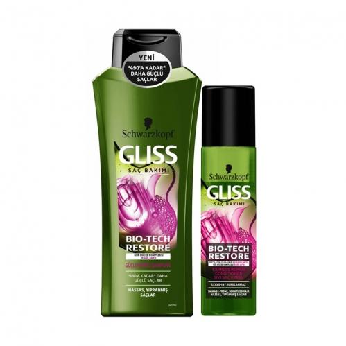 Gliss - Gliss Bio Tech Restore Güçlendirici Bakım Seti