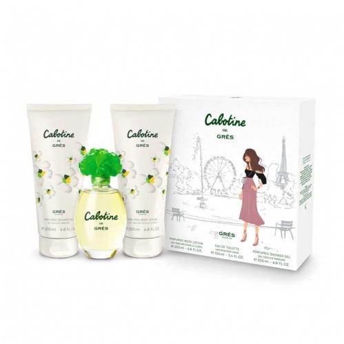 Cabotine - Gres Cabotıne 100 Ml Edt + 200 Ml Body Lotıon + 200 Shower Gel