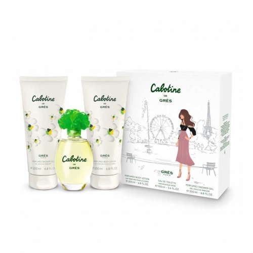 Cabotine - Gres Cabotıne 100 Ml Edt + 200 Ml Body Lotıon + 200 Shower Gel