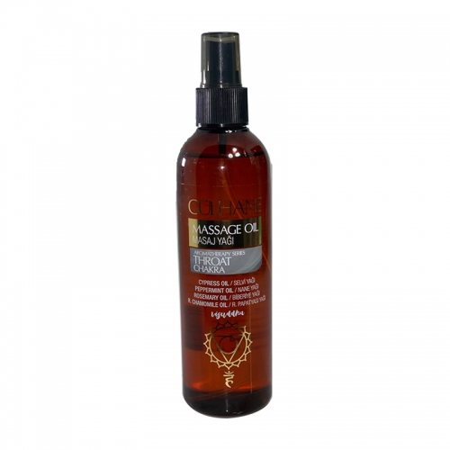 Gülhane - Gülhane Throat Chakra Masaj Yağı 250 ml