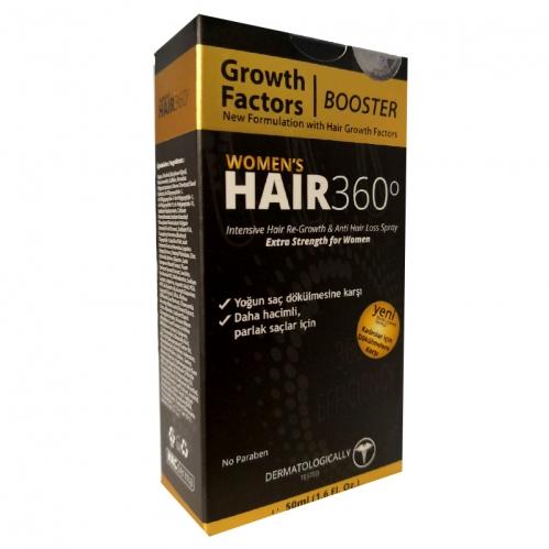 Hair 360 - Hair 360 Booster Womens Hair Spray 50ml - Kadınlar için Saç Spreyi