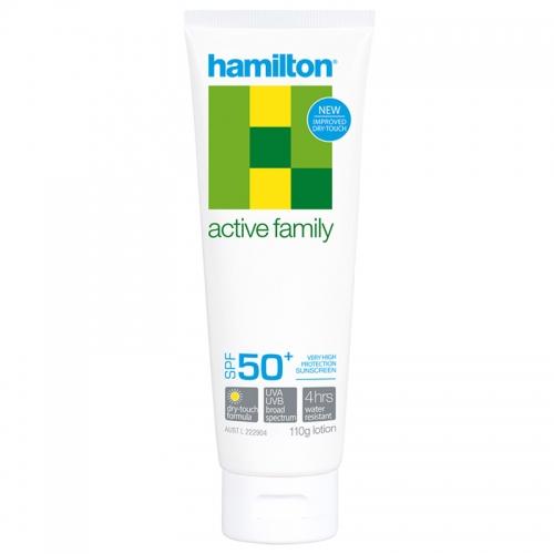 Hamilton - Hamilton Active Family Lotion Spf50+ 110gr