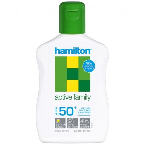 Hamilton - Hamilton Active Family SPF50+ Losyon 125ml