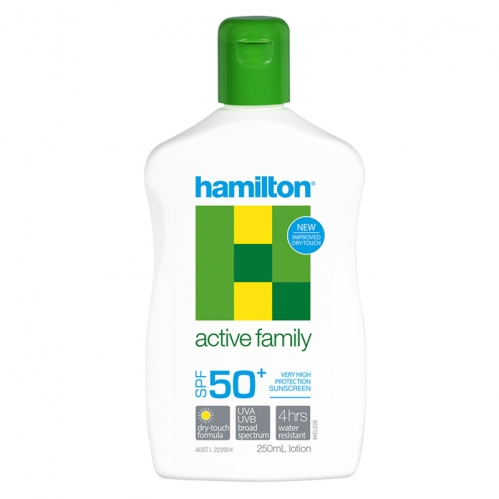 Hamilton - Hamilton Active Family SPF50+ Losyon 250ml