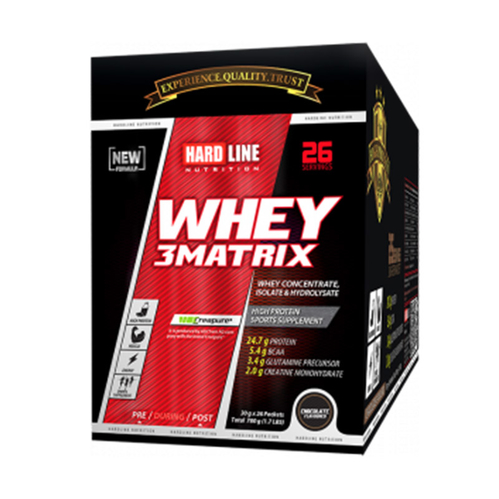 Hardline - Hardline Whey 3 Matrix Saşe 2.340 g x 78 Adet