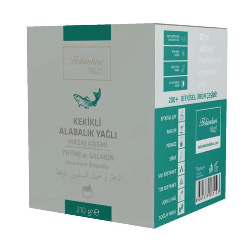 Hekimhan - Hekimhan Kekikli & Alabalık Yağlı Masaj Kremi 210 gr