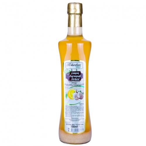 Hekimhan - Hekimhan Sarımsaklı Limon Sirkesi 500 ml