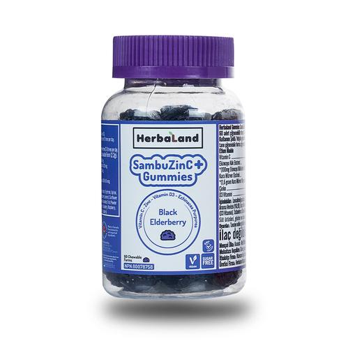 Herbaland - Herbaland SambuZinC + Gummies 60 Adet