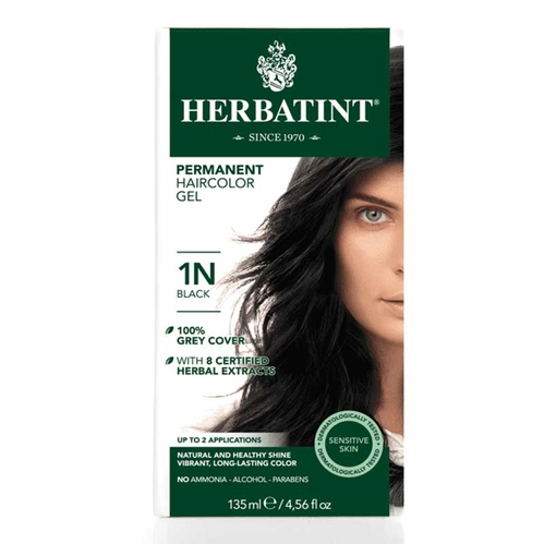 Herbatint - Herbatint Saç Boyası 1N Noir - Siyah