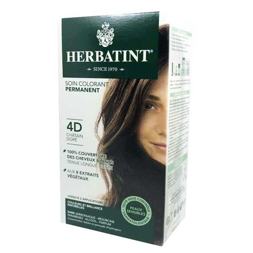 Herbatint - Herbatint Saç Boyası 4D Chatain Dore