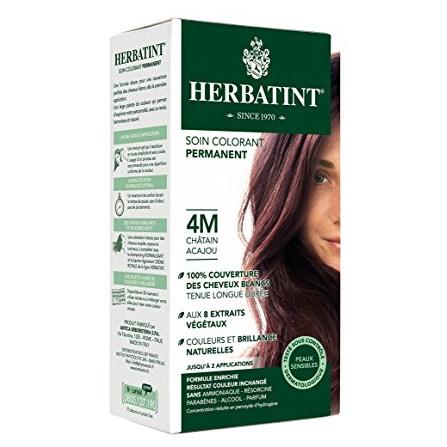 Herbatint - Herbatint Saç Boyası 4M Chatain Acajou