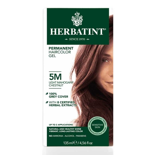 Herbatint - Herbatint Saç Boyası 5M Chatain Clair Acajou