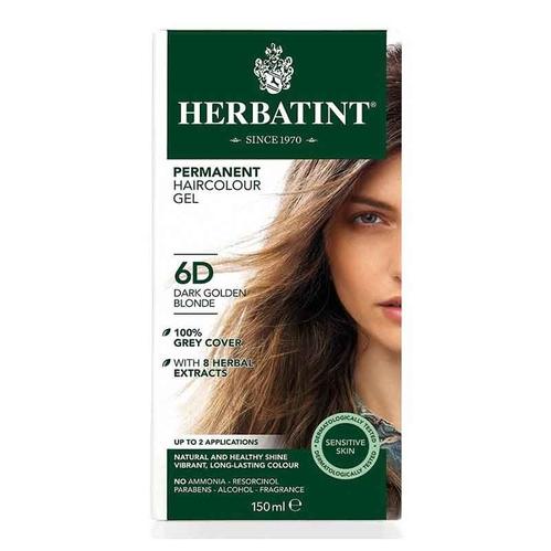 Herbatint - Herbatint Saç Boyası 6D Blond Fonce Dore