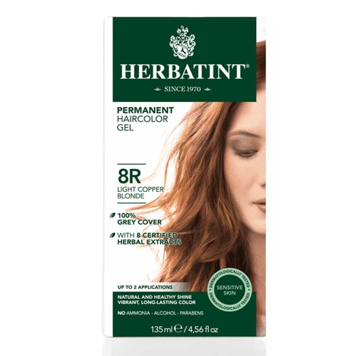 Herbatint - Herbatint Saç boyası 8R Blond Clair Cuivre