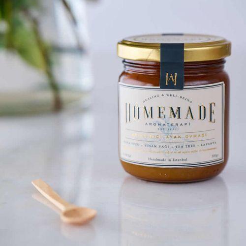 Homemade Aromaterapi - Homemade Aromaterapi Arındırıcı Ayak Ovması 300 gr