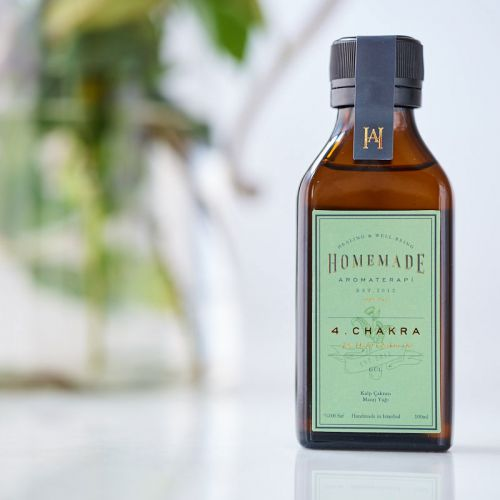 Homemade Aromaterapi - Homemade Aromaterapi Çakra Yağı 100 ml - 4 Numara