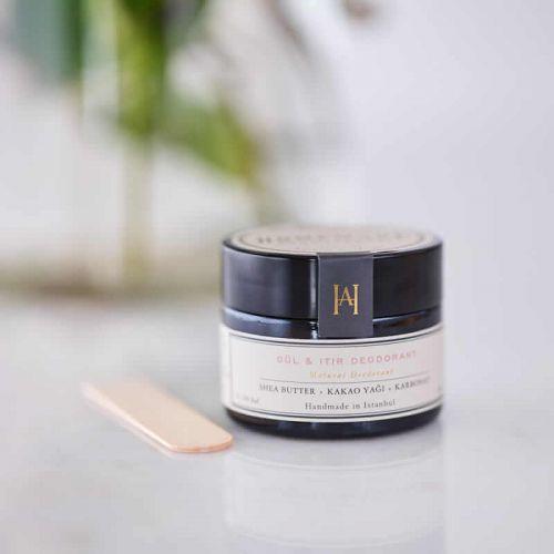 Homemade Aromaterapi Gül ve Itır Doğal Krem Deodorant 45 gr