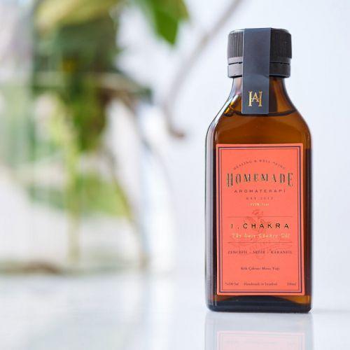 Homemade Aromaterapi - Homemade Aromaterapi Kök Çakrası Yağı 100 ml - 1 Numara