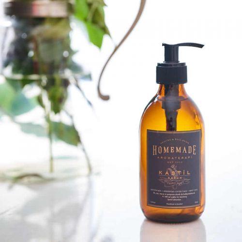 Homemade Aromaterapi - Homemade Aromaterapi Patcholi & Lavanta Sıvı Kastil Sabun 300 ml