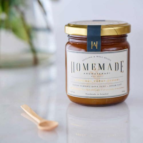 Homemade Aromaterapi - Homemade Aromaterapi Pürüzsüz Vücut Ovması 300 gr