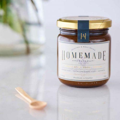 Homemade Aromaterapi - Homemade Aromaterapi Rahatlatıcı Vücut Ovması 300 gr