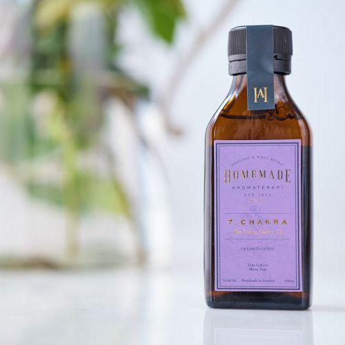 Homemade Aromaterapi - Homemade Aromaterapi Tepe Çakra Yağı 100 ml - 7 Numara