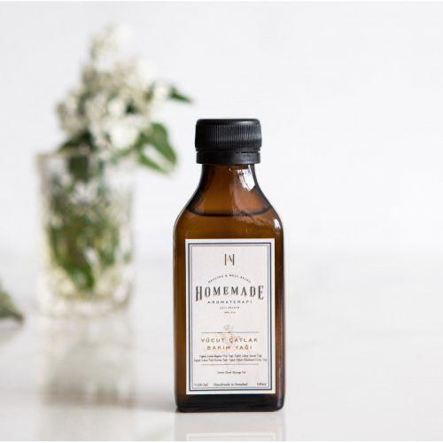 Homemade Aromaterapi - Homemade Aromaterapi Vücut Çatlak Bakım Yağı 100 ml