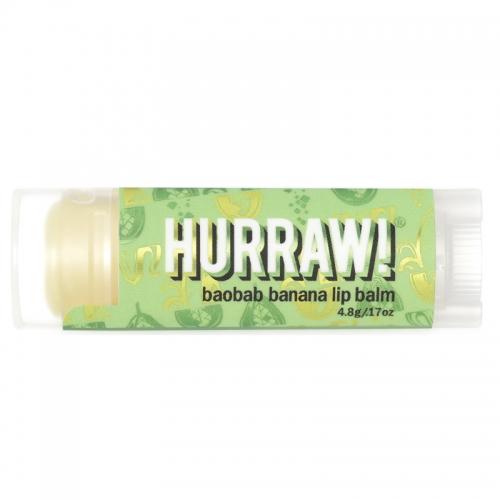 Hurraw - Hurraw Chai Spice Lip Balm - Baobab Banana 4.3 gr