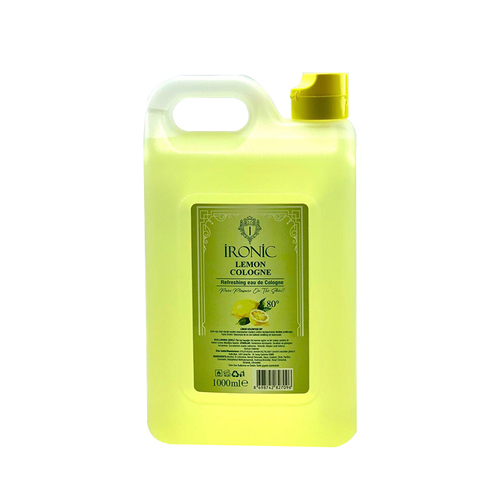 İronic - İronic 80 Derece Limon Kolonyası 1000 ml