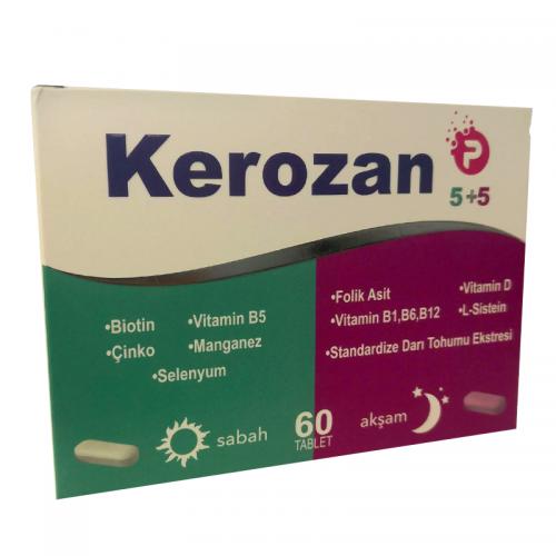 Kerozan - Kerozan P Takviye Edici Gıda 5+5 - 60 Kapsül