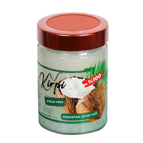 Kirpi Cosmetics - Kirpi Soğuk Pres Hindistan Cevizi Yağı 300 ml