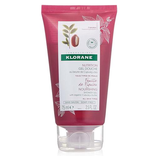 Klorane - Klorane Nutrition İncir Yaprağı Ekstreli Organik Cupuaçu Yağı İçeren Duş Jeli 75 ml