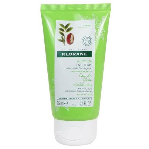 Klorane - Klorane Nutrition Yuzu Meyvesi Ekstreli Organik Cupuaçu Yağı İçeren Besleyici Vücut Losyonu 75 ml