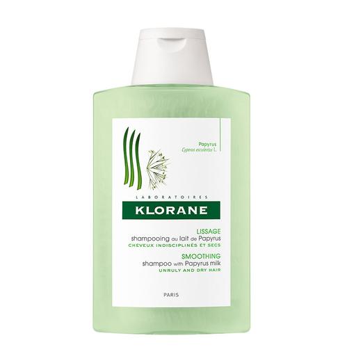 Klorane - Klorane Papirus Sütü İçeren Şekle Girmeyen Saçlar İçin Bakım Şampuanı 200 ml
