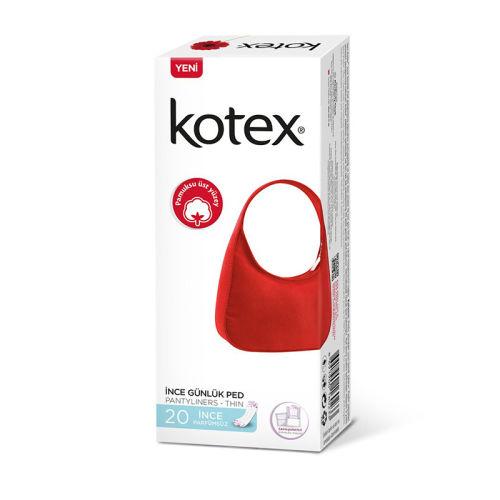 Kotex - Kotex İnce Günlük Ped 20 Adet