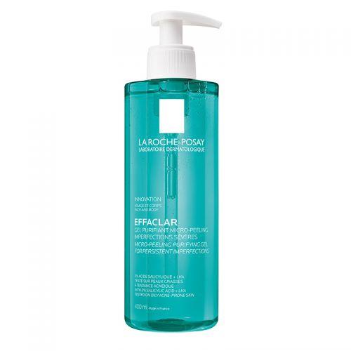 La Roche Posay - La Roche Posay Effaclar Mikro Peeling Jel Yüz ve Vücut 400 ml