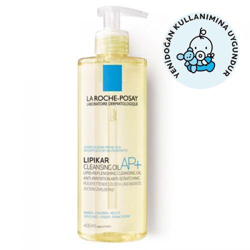 La Roche Posay - La Roche Posay Lipikar AP+ Vücut Yıkama Yağı 400 ml