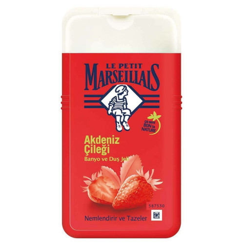 Le Petit Marseillais - Le Petit Marseillais Akdeniz Çileği Banyo ve Duş Jeli 250ml