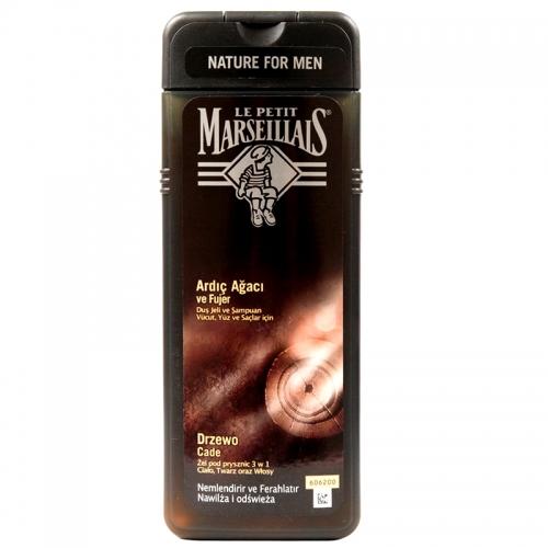 Le Petit Marseillais - Le Petit Marseillais For Men Ardıç Ağacı ve Fujer Duş Jeli ve Şampuan 400ml