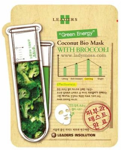 Leaders - Leaders Insolution Coconut Bio Mask with Broccoli 25ml