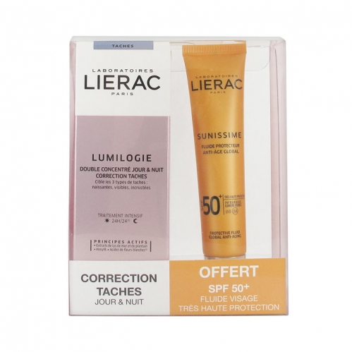Lierac - Lierac Lumilogie Correction Taches Day And Night +Sunnissime SPF 50 +40 ml