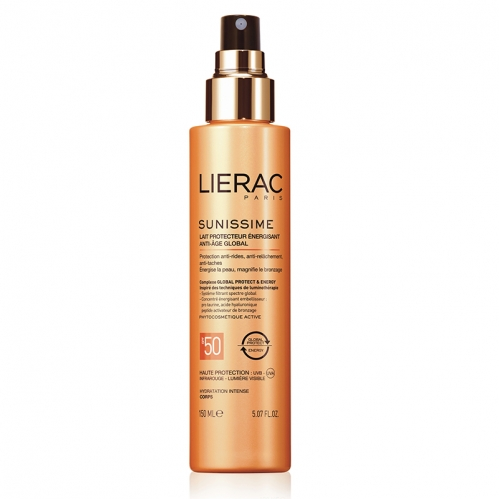 Lierac - Lierac Sunissime Energizing Protective Milk Spf50 150ml